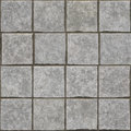 Grey stone bricks floor texture seamless wall or background Stock Photography
