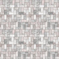 Grey Stone Floor Seamless Pattern Stock Image