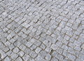 Grey stones pavement new stone bricks texture suitable as background Stock Images