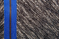 Grey tweed like texture gray wool pattern textured salt and pe with blue zipper pepper style black white melange upholstery Stock Images