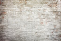 Grey wall textured background of red brick and cement plaster treatment Stock Photos