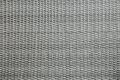 Grey woven webbing background gray with horizontal and vertical lines Stock Photo