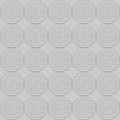 Greyscale circles seamless ornament contains levels little are unsmooth the art looks sophisticated Stock Images