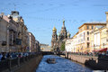 Griboedov Canal in Saint-Petersburg Royalty Free Stock Photography