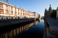Griboedov Canal in St. Petersburg Stock Photos