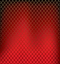 Grid background raster version of vector image of the gold wire against a dark red there is in addition a vector format eps Royalty Free Stock Photos