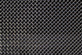 Grid from car radiator Royalty Free Stock Photo