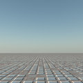Grid horizon a flat grunge to background Royalty Free Stock Photos
