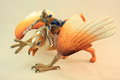 Griffin figurine toy Royalty Free Stock Photo