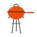 Grill barbecue kettle food camping Royalty Free Stock Photo