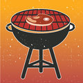 Grill bbq cookout vector illustration Stock Photos