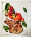 Grill Pork Chops Royalty Free Stock Photo