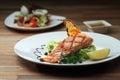 Grill Salmon Royalty Free Stock Photo