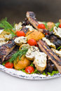 Grilled appetizer Royalty Free Stock Photo