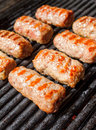 Grilled cevapcici Royalty Free Stock Photo