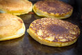 Grilled Cheese Arepas Royalty Free Stock Photo