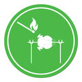 Grilled chicken icon