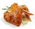 Grilled chicken wings Royalty Free Stock Photo