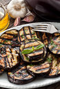 Grilled eggplants Royalty Free Stock Photo