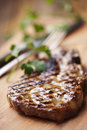 Grilled fillet steak pork or beef Royalty Free Stock Photography
