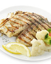 Grilled Fish Fillet Royalty Free Stock Photo