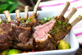 Grilled Lamb Chops Royalty Free Stock Photo