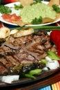 Grilled meat fajita Royalty Free Stock Photo