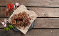 Grilled meat (kebab) Royalty Free Stock Photo