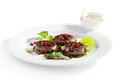 Grilled Meat Medallions