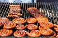 Grilled meats Royalty Free Stock Photo