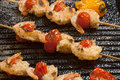 Grilled Parmesan Shrimp Royalty Free Stock Photo