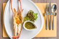 Grilled Prawn Royalty Free Stock Photo