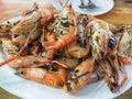 Grilled prawn Royalty Free Stock Photo