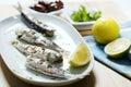 Grilovaný sardinky