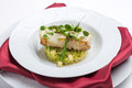 Grilled sea bass fish Royalty Free Stock Photo