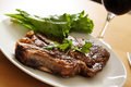 Grilled steak Stock Photography