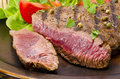 Grilled Steak. Barbecue Royalty Free Stock Photo