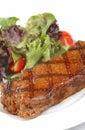 Grilled steak - Juicy beef Royalty Free Stock Photo