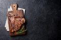 T-bone steak Royalty Free Stock Photo