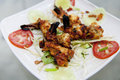 Grilled Tandoori Shrimp Royalty Free Stock Photo