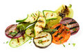 Grilled vegetable Stock Images