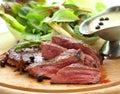 Grilled venison Stock Photos