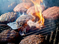 Grilling Royalty Free Stock Photo
