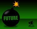 Grim future Royalty Free Stock Photo