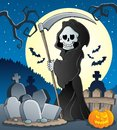 Grim reaper theme image 5 Royalty Free Stock Photos