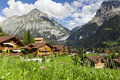 Grindelwald village, Switzerland Stock Image