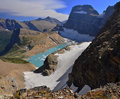 Grinnell glacier Stock Photo