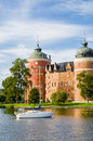 Gripsholm castle swedish gripsholms slott mariefred castle mariefred sã dermanland sweden regarded as one sweden s finest Stock Images
