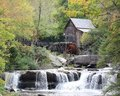 Grist Mill at Babcock State Park Royalty Free Stock Image