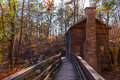 Grist Mill in Stone Mountain Park, USA